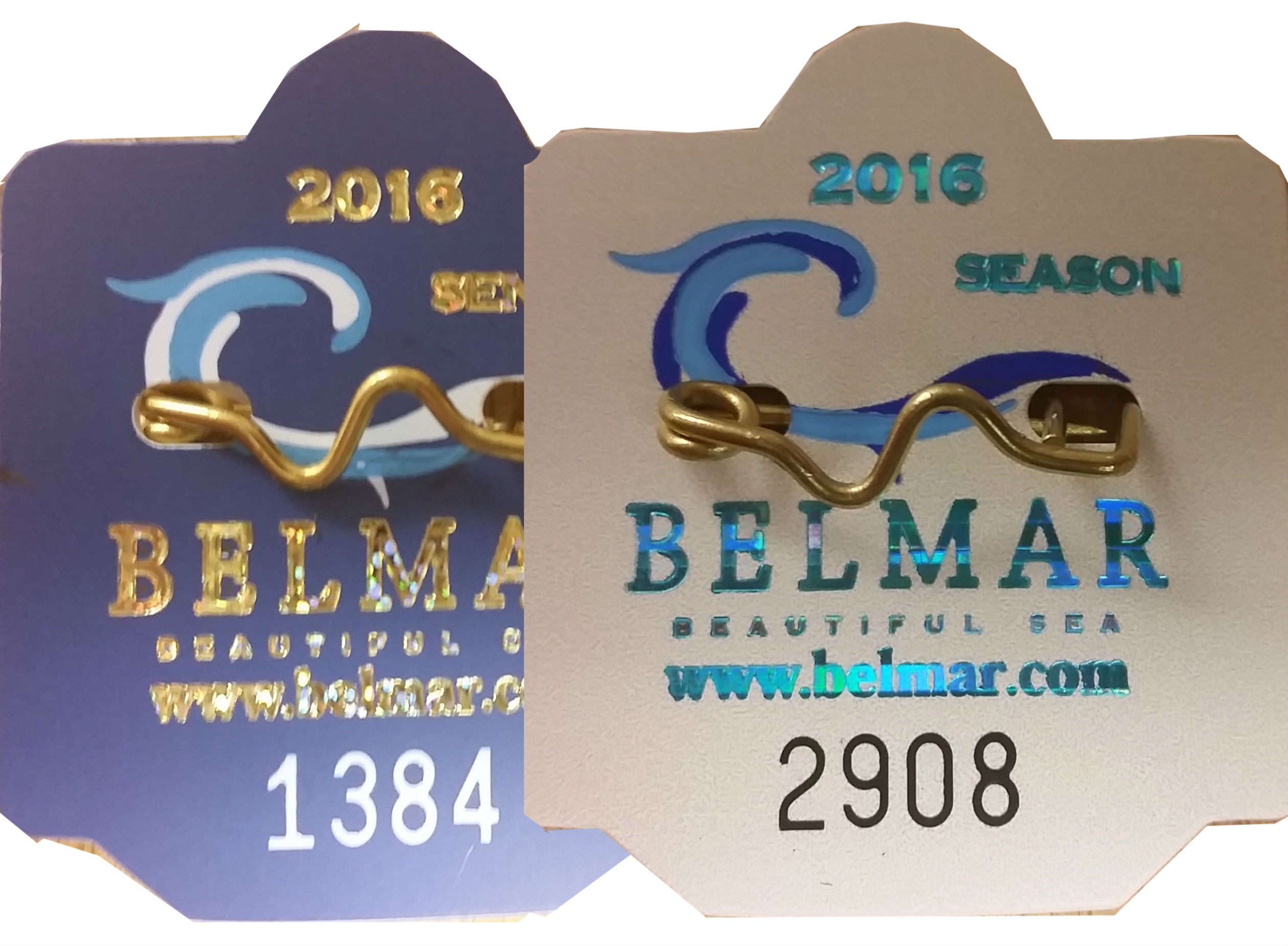 2016 Beach Badges